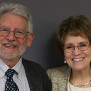 Mary Sue Coleman and Paul Courant