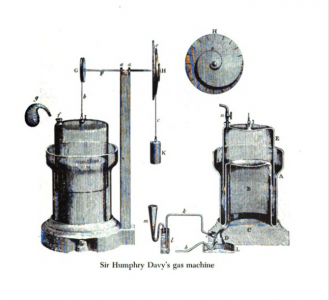 Sir Humphry's Gas Machine